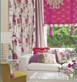 Lounge Curtains/Blinds